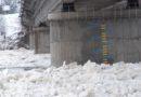 Plūdu draudi Jēkabpilī (VIDEO)