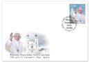 Aglonā zīmogos Viņa Svētībai pāvestam Franciskam veltītu pastmarku