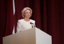 Saeimas priekšsēdētājas Ināras Mūrnieces runa Saeimas svinīgajā sēdē Latvijas Republikas proklamēšanas 100. gadadienā