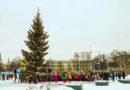 Pie atjaunotā Rīgas Franču liceja iedegas eglīte