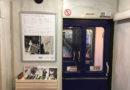 """Pirmā lasītava vilcienā: Imanta Ziedoņa muzeja bibliotēka sāk projektu """"Ceļā ar grāmatu"""""""
