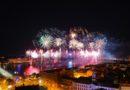 Rīgas 818. dzimšanas dienas svētku uguņošana