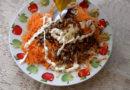 Burkānu salāti ar saulespuķu sēkliņām