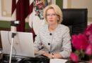 I.Mūrniece: Latvija pauž stingru atbalstu Baltkrievijas tautai