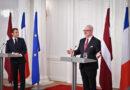 Valsts prezidenta uzruna preses konferencē Francijas prezidenta un kundzes oficiālās vizītes laikā Latvijā