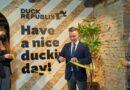"""Investējot 7,5 miljonus eiro, atklāj revolucionāra koncepta studentu viesnīcu """"Duck Republik"""""""