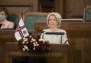 Saeimas priekšsēdētāja: mēs esam radoši, protam mainīties uz augšu; mēs esam saules pusē