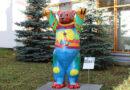 Rīgas lāča skulptūra priecēs Bērnu slimnīcas pacientus