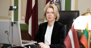 I.Mūrniece uzsver Baltijas valstu sadarbību pandēmijas pārvarēšanā