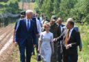 Iekšlietu ministre M.Golubeva apmeklēja Latvijas austrumu robežu