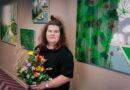 """Dizaina viesnīcā """"Grand Poet"""" sadarbībā ar LMA atklāta mākslinieces Sandras Strēles personālizstāde"""