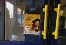 Policija vilcienos konstatē 85 obligātā mutes un deguna aizsega lietošanas pārkāpumus
